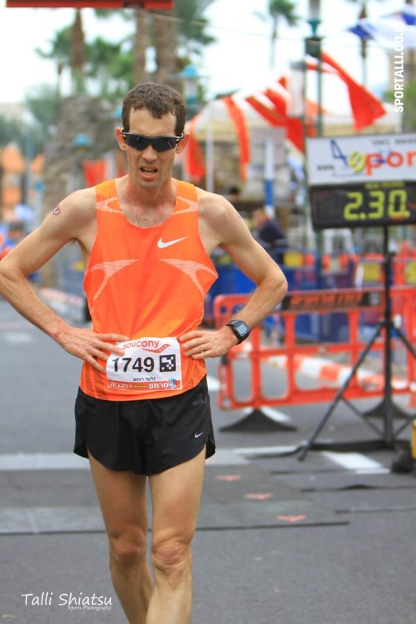 מרתון טבריה 2014 | גלעד רותם | צילום: טלי שיאצו