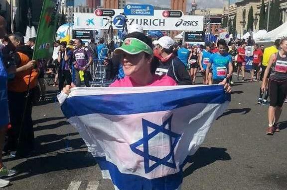 לרוץ את מרתון ברצלונה | מיכל טננבאום בסוף המרתון