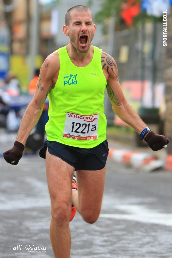 הדיכאון שאחרי מרתון | על קו הסיום | צילום: טלי שיאצו