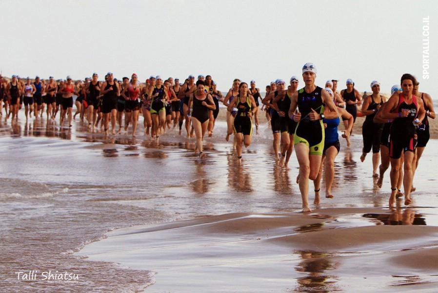 טריאתלון נשים 2015 | ים יבשה
