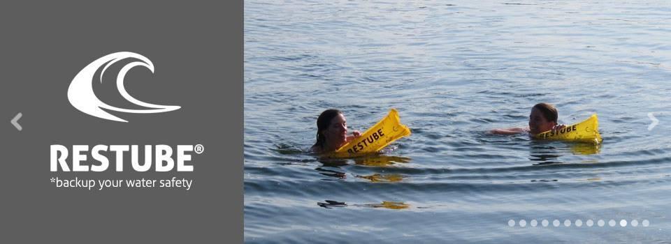 מצוף הבטיחות שלך במים - RESTUBE