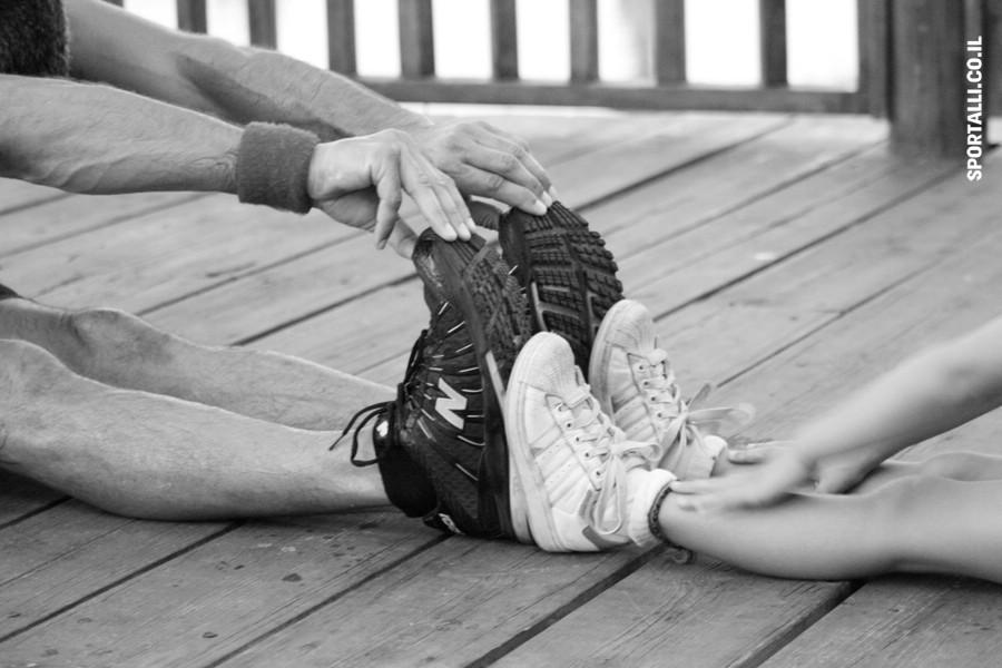 עיסוי ספורטאים מגמיש שרירים | צילום:עומר לוי