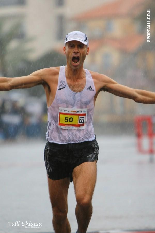 צילום: טלי שיאצו | מרתון טבריה | גדעון תמר משפר את שיאו האישי ל- 2:36:59 !!!!