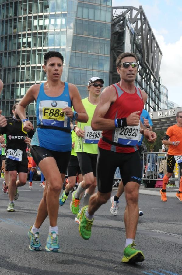 צילום: מרתון ברלין | תחילת הריצה וכייף לי