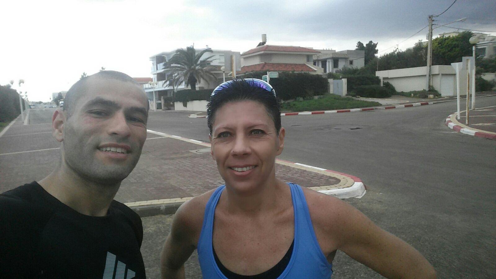 לרוץ מרתון | סוניה וישראל