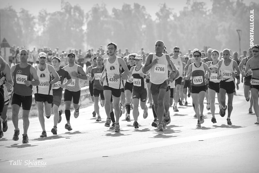 לרוץ על כאב | צילום: טלי שיאצו | חצי מרתון בית שאן