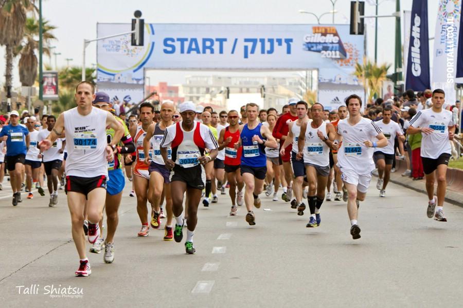 מרתון תל אביב | צילום: טלי שיאצו | קו זינוק