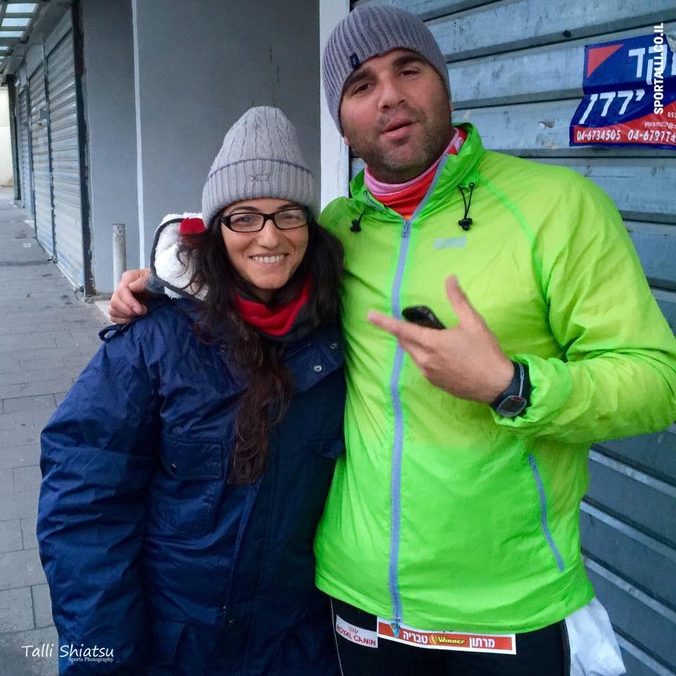 מרתון טבריה 2015 | טלי שיאצו בחרמונית