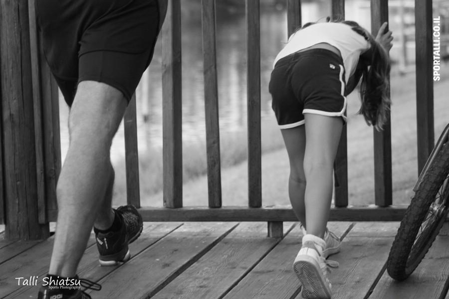 פציעות ספורט בטריאתלון | צילום עומר לוי
