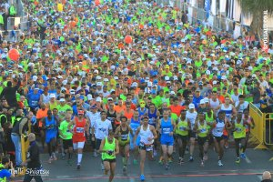 צילום: טלי שיאצו | זינוק מרתון תל אביב 2015