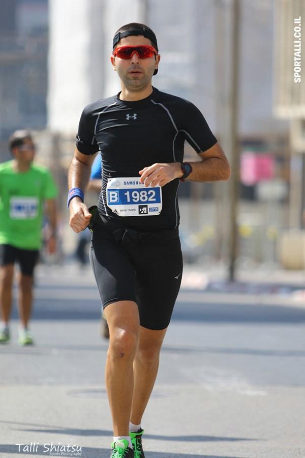 מרתון תל אביב 2016 | שלומי שושן | צילום: טלי שיאצו