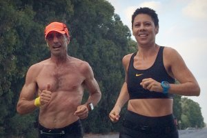 לרוץ עם המאמן | סוניה והמאמן יעקב