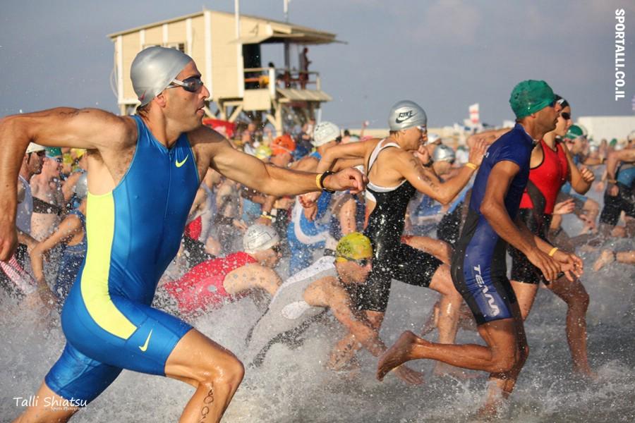 צילום: טלי שיאצו | טריאתלון בתל אביב