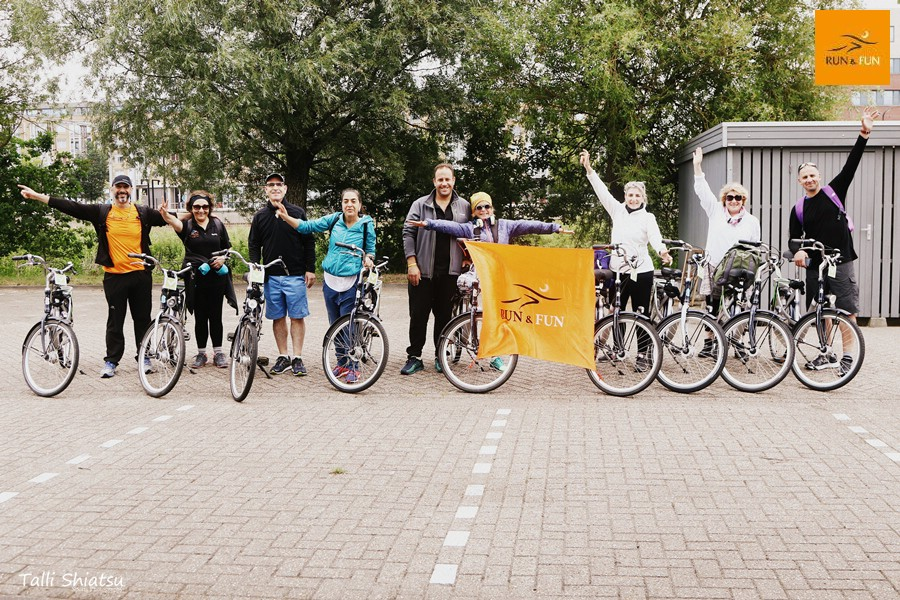 מרתון בהולנד | סיור אופניים
