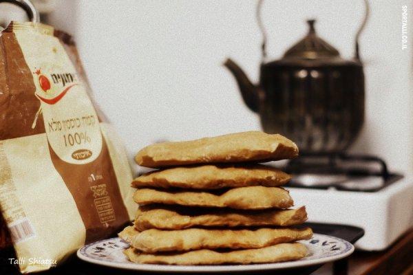 פיתות אופוקצ'ה מקמח כוסמין | בריא, טעים, קל ומהיר להכנה